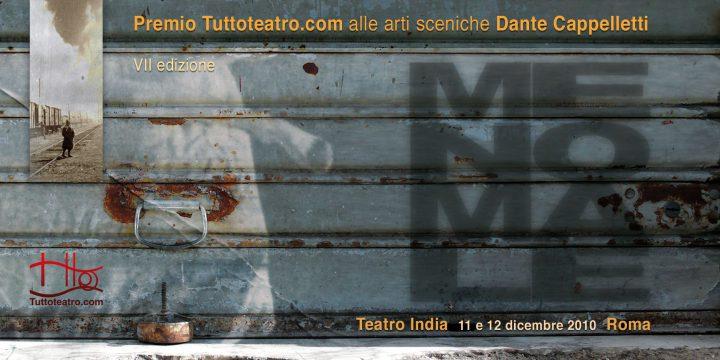 loca Immagine Premio Dante Cappelletti 2010