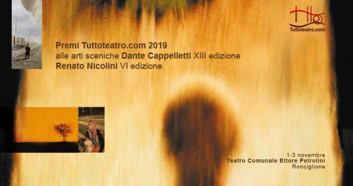 I SEMIFINALISTI AL TEATRO PETROLINI DI RONCIGLIONE  1-3 NOVEMBRE 2019