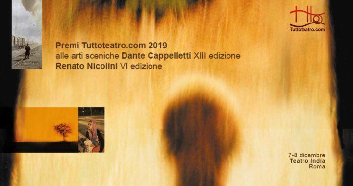 Comunicato Stampa – Finali Premi Tuttoteatro.com 2019