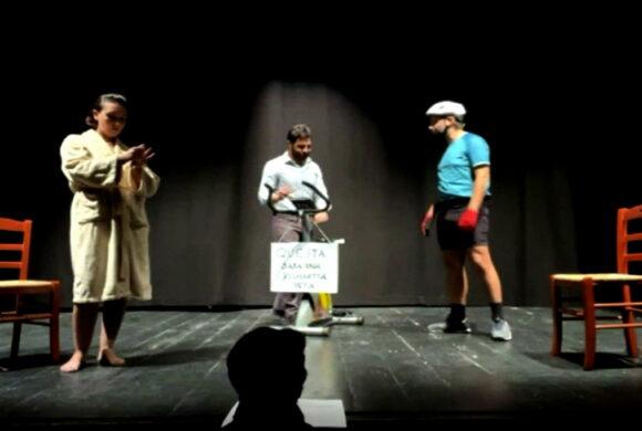 La tappa in salita - Associazione Primo Aiuto - Compagnia Liberaimago screen di Michele Tomaiuoli
