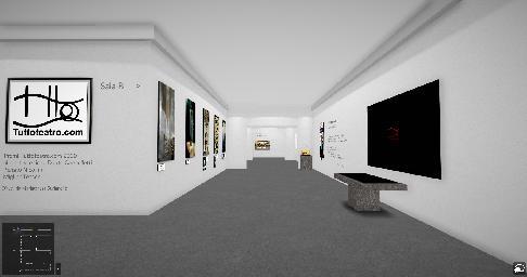 Una mostra 3d racconta tuttoteatro.com 2020 in digitale.