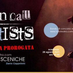 PROROGATA AL 26 AGOSTO la scadenza del Premio Tuttoteatro.com alle arti sceniche Dante Cappelletti